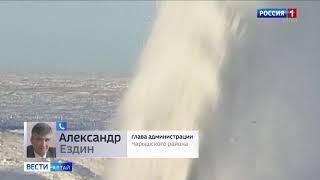 В Алтайском крае после снегопаданет транспортного сообщения со 108 посёлками