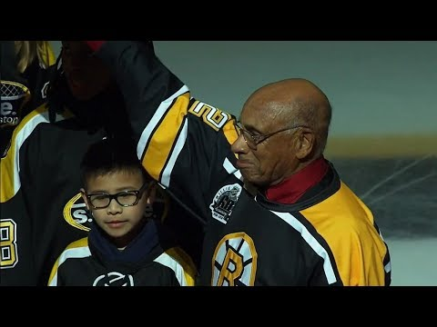 Willie O'Ree's Impact Felt In Fredericton And Around The World   Home Town Heroes