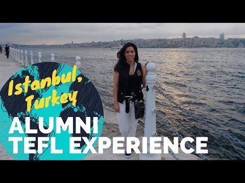 Teaching English - Istanbul Turkey, Valerie Davila - International TEFL Academy