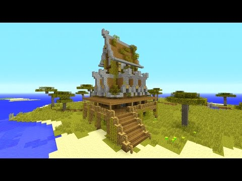 Building with STYLE! Rustic House - Minecraft Tutorial