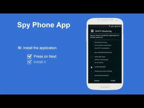 Spy Phone App - Android Install guide