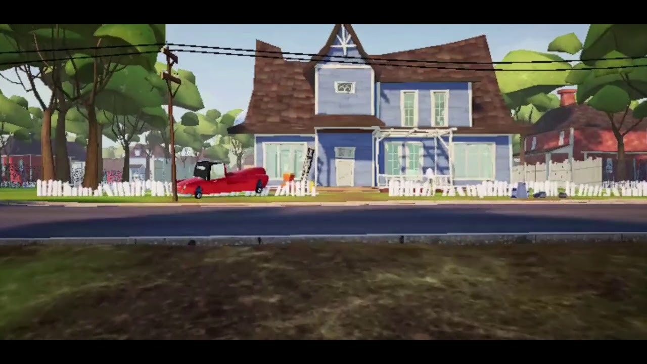 Hello neighbor gameplay (PART 4), android gameplay, mobile ...