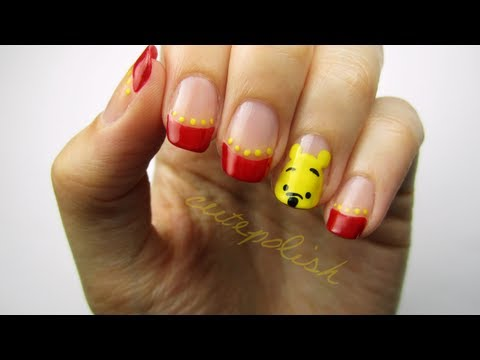 Cute Winnie The Pooh Nails Youtube
