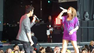Video End of Wouldn't Change A Thing (Live from Toronto) - Joe Jonas and Demi Lovato (HD) download MP3, 3GP, MP4, WEBM, AVI, FLV Agustus 2018