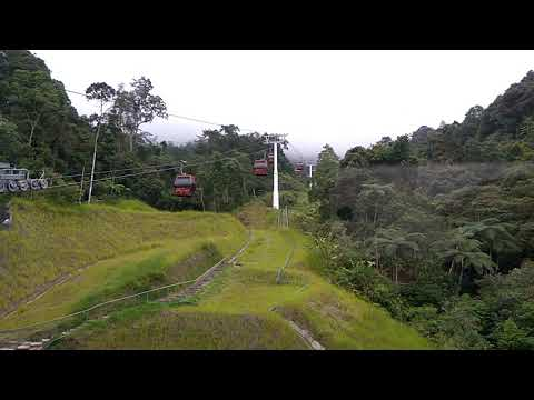 Cable car - genting highland - Malaysia