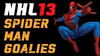 NHL 13: Spiderman Goalies