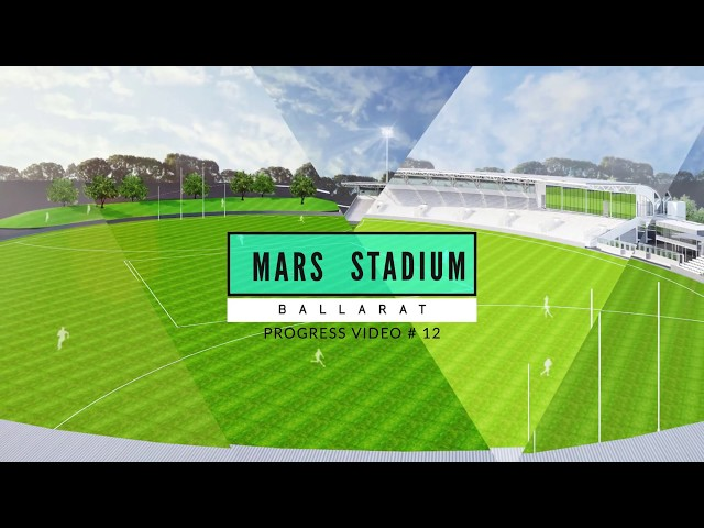 Eureka (Mars) Stadium Update 12