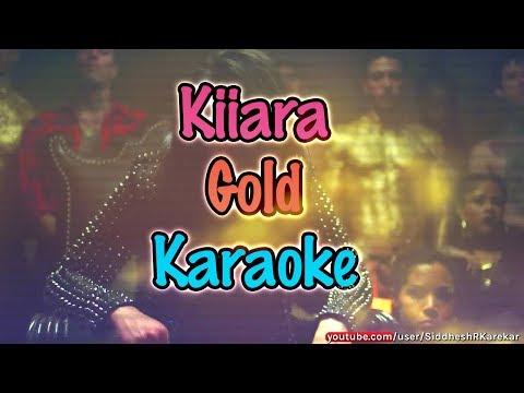 Kiiara - Gold (Instrumental / Karaoke) with hook