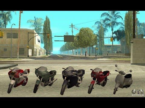 Las 7 motos mas rápidas del Gta San Andreas