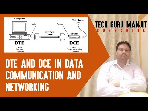 DTE And DCE In DATA Communication And Networking