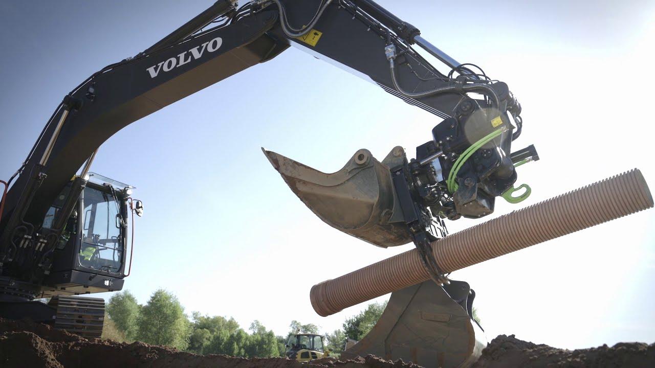 Upgrade des Volvo-Raupenbaggers EC250E und EC300E