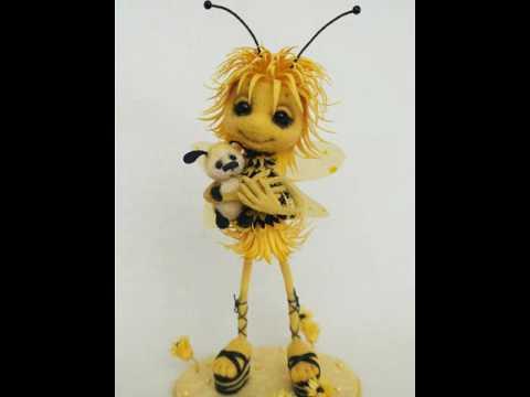 Пчелку Анюту С Днём рождения!