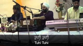 Tuhi Tuhi Simran Live by Veer Manpreet Singh & Jatha  on 25th Nov 12