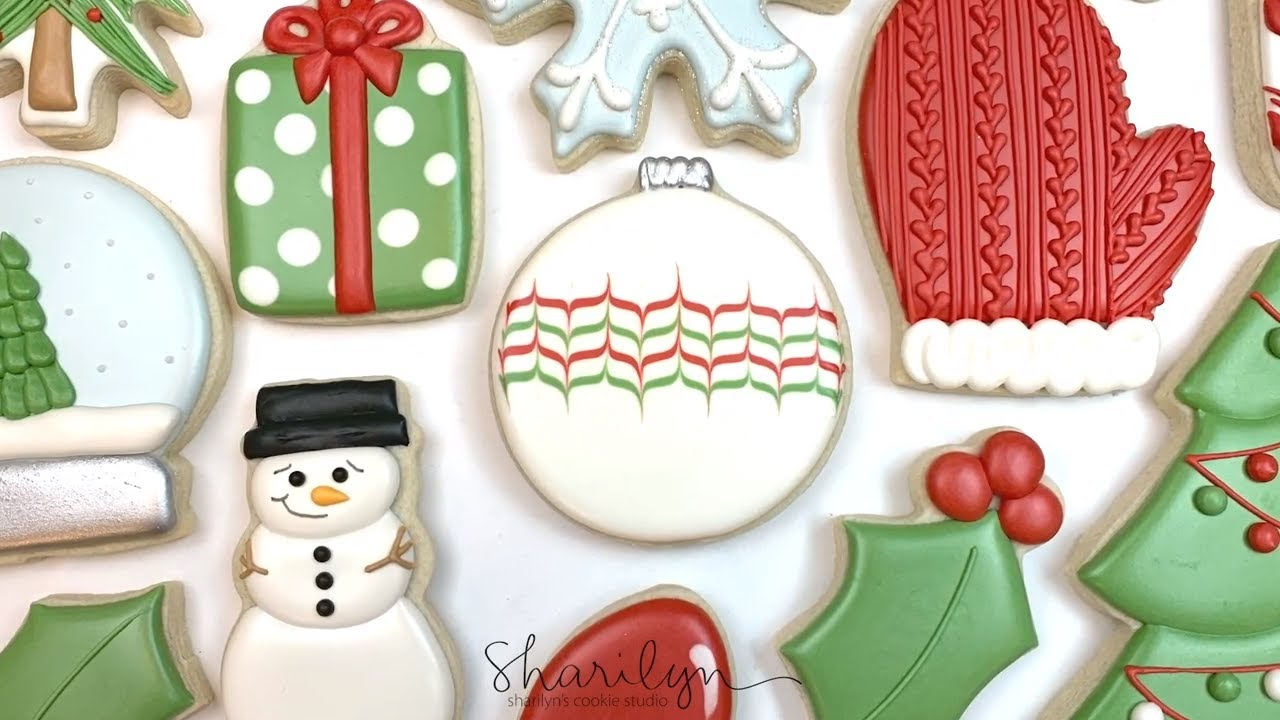 How To Decorate Easy Ornament Sugar Cookies! 12 Days of Christmas