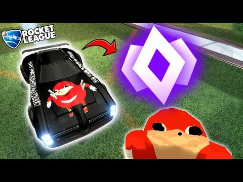 DO YOU KNOW DA WAY TO CHAMPION?! (Rocket League Gameplay/Competitive Goals)