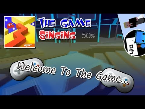 Dancing Line [Fan-Made] Singing - Welcome To The Game (The Game by Maxidae & Mazab IZW)