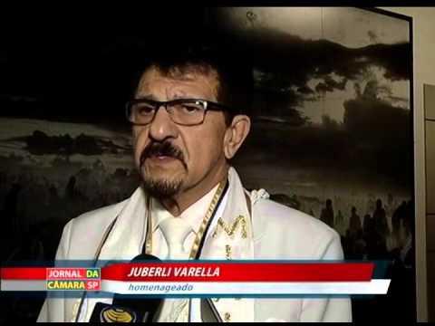 Pai Varella é homenageado em sessão solene