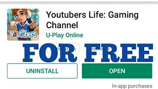 HOW TO DOWNLOAD YOUTUBERS LIFE FOR FREE ON ANDROID 2019