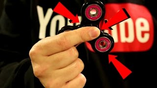 HOW TO SPIN A FIDGET SPINNER FAST LIKE A PRO!