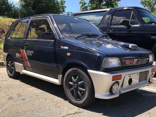 1987 Suzuki Alto Works RS-X Walk Around