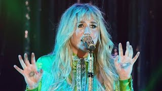keshas first performance since dropping the lawsuit against dr luke