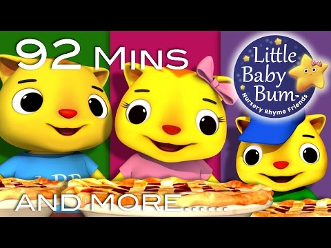 Three Little Kittens | Part 2 | Plus Lots More Nursery Rhymes | From LittleBabyBum!