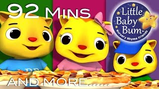 Three Little Kittens | Part 2 | And More Nursery Rhymes | From LittleBabyBum