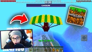 NEW SERVER CAME OUT WITH NEW EPIC MINIGAME EQUAL FORTNITE AND FREE FIRE FOR MINECRAFT POCKET EDITION