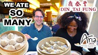GRAND OPENING Din Tai Fung Las Vegas @ Aria | We Ate SO MANY Soup Dumplings 🥟