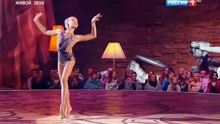 Елизавета Тайченачева - Художественная гимнастика. Е. Дога «Встреча» // Синяя птица 2016