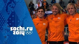 Men's Speed Skating - 500m - Mulder Wins Gold | Sochi 2014 Winter Olympics