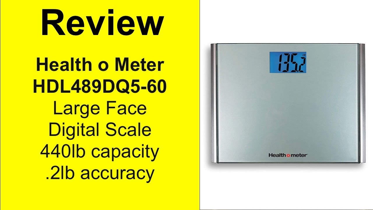 Health o meter Large Face Digital Scale