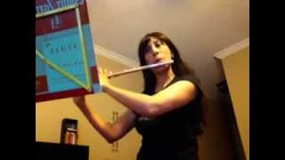 OKMEA 2013 - Flute Etude - JS Bach - Gigue in F minor