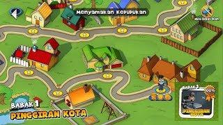 Robbery Bob - Babak 1 - Pinggiran Kota - 100% Complete screenshot 5