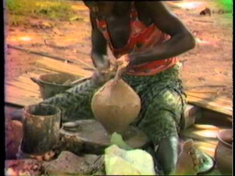 The Hands of the Potter: Tombo Monyanga, Congo, Central Afri
