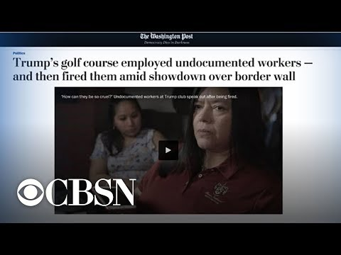 Undocumented workers reportedly fired from Trump golf club after years of service