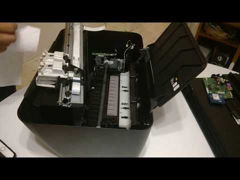 Printer HP Deskjet 2545 - Clean-up and Install jnk tank
