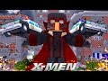 MAGNETO DESTROYS THE CITY!!! - Minecraft X-Men