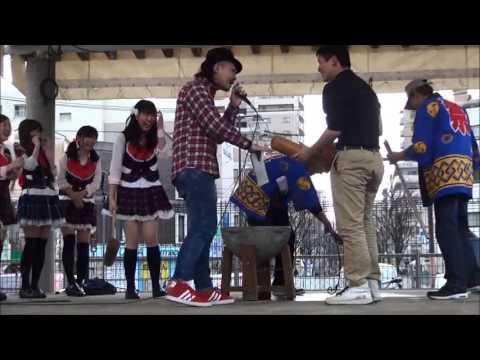 姪浜フェスティバル(2014.01.25) 餅つき