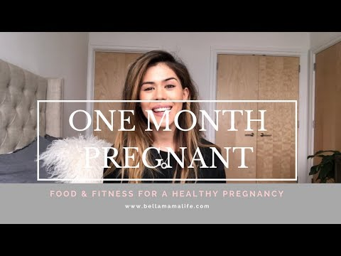 1 MONTH PREGNANT: How to boost nutrition despite what you're craving