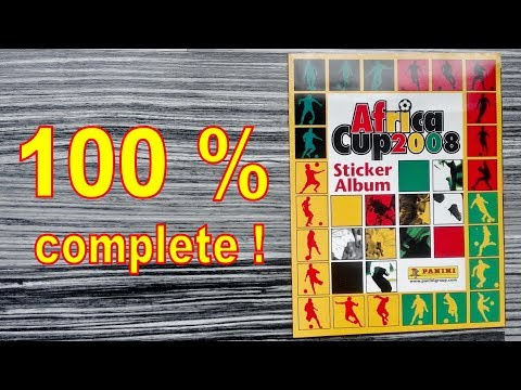 """Panini Album """"Africa Cup 2008"""" Ghana - 100 % COMPLETE / FULL / LLENO / COMPLETO"""