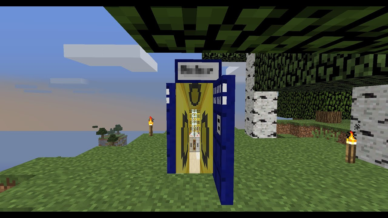 My Minecraft Tardis Map! (Link In Description) - YouTube