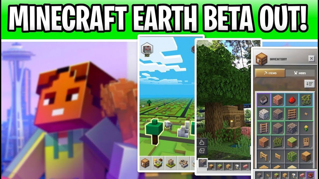 Minecraft Earth Beta Out Now In Select Cities! Sign Up Details & Gameplay