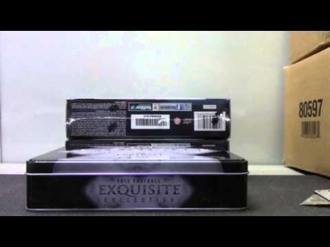 2012 Upper Deck Exquisite Football 3 Box Case Break GB ONE 1