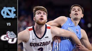 North Carolina vs. Gonzaga Men's Basketball Highlights (2019-20)
