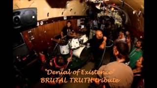 Demisor - Denial of Existence ( Brutal Truth cover )