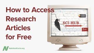 Jak zdarma získat přístup k odborným článkům