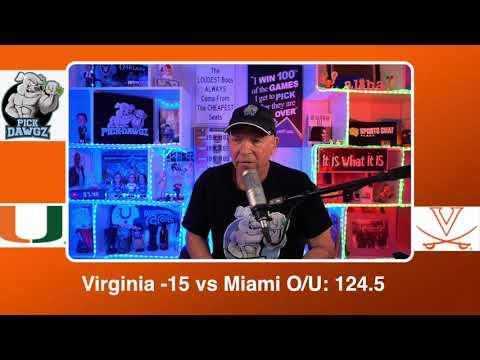 Virginia vs Miami 3/1/21 Free College Basketball Pick and Prediction CBB Betting Tips