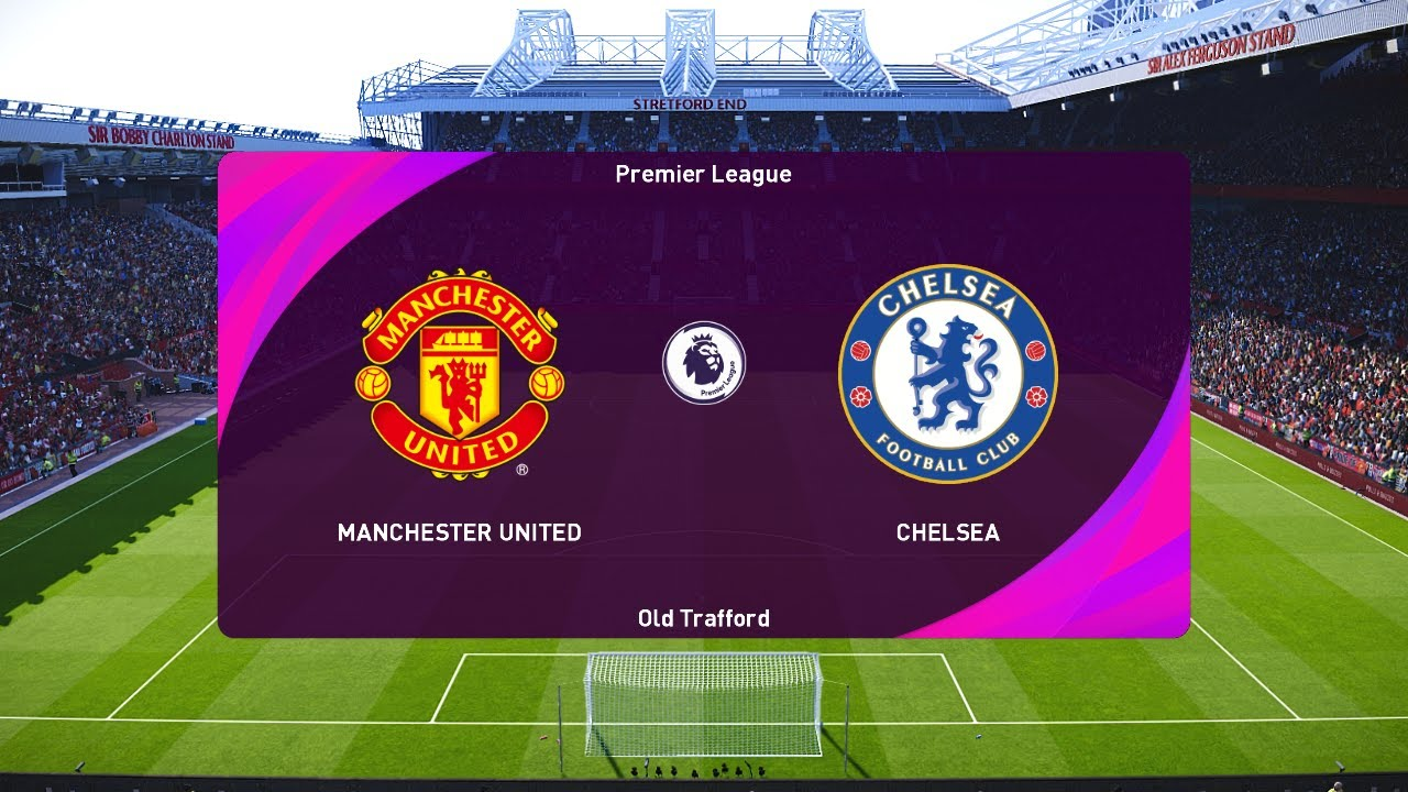 Manchester United vs Chelsea - Premier League 2020/21 Gameplay - YouTube