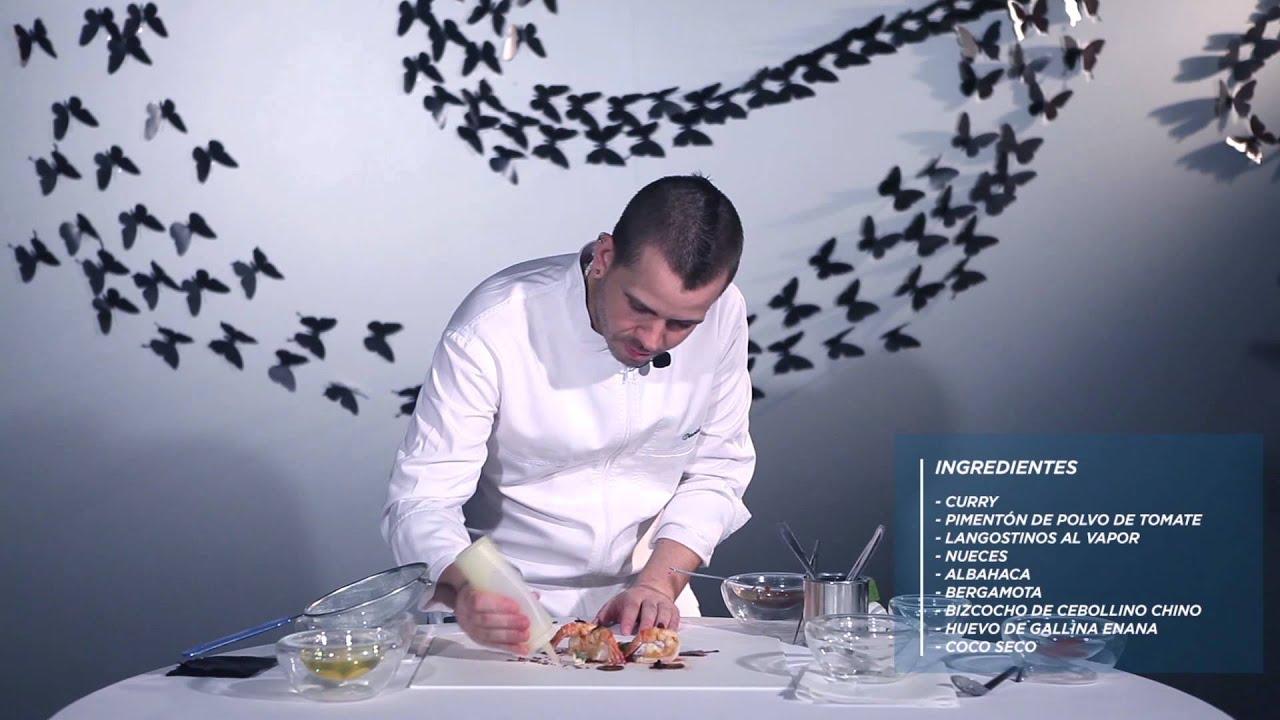 Video Receta De David Muñoz Langostinos Con Coco Youtube